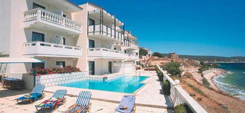 Appartementen Ostria - Kataraktis - Chios